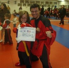Karate Instructor for girl's karate classes