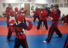 Karate Black Belts prepare students
