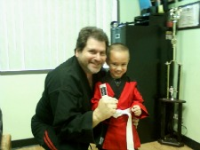 Karate Master and Student