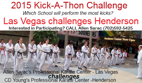 The Karate Kick-a-thon for Charity