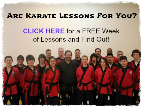 free karate lessons in las vegas