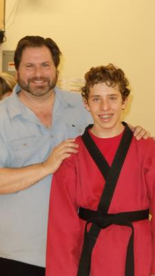 The day I passed my blackbelt test!
