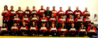 Black Belts & Their Start Dates