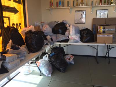 Las Vegas Karate Students Held A Clothing & Coat Drive for Las Vegas Rescue Mission
