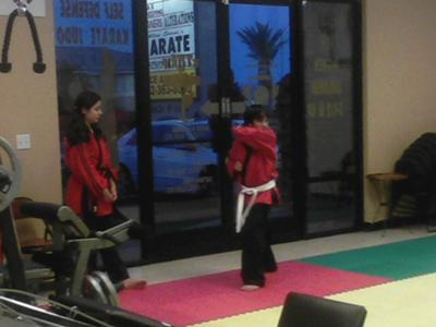 Black Belt Jeanette Coaching