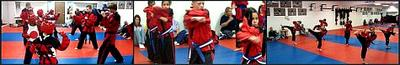 LVKarate.com student testing for belt promotion