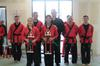 Group shot of karate kata winners
