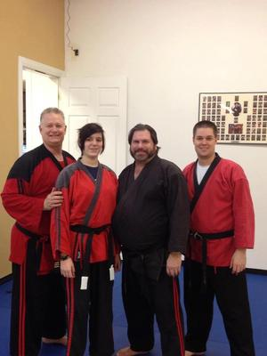 lvkarate.com Taylor achieves her black belt