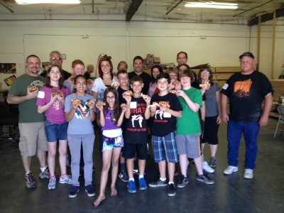 Las Vegas Karate team at Toys 4 Smiles charity event