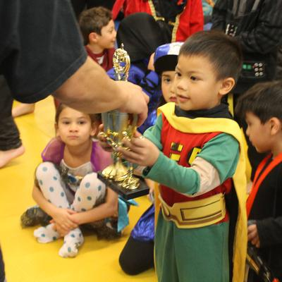 Super Hero Party for Charity with Professional Karate Center